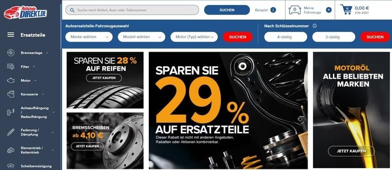 Erfahrungen mit Autoteiledirekt.de