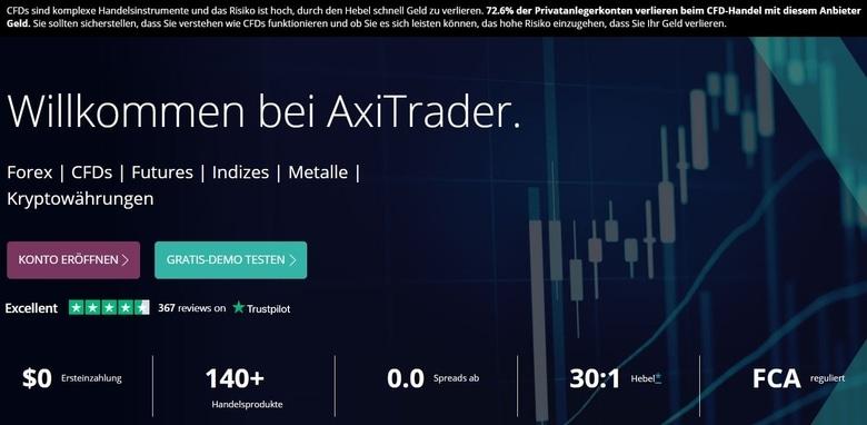 Axi Trader Erfahrungen