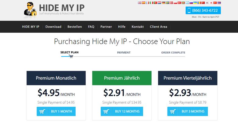 Hide My IP Price