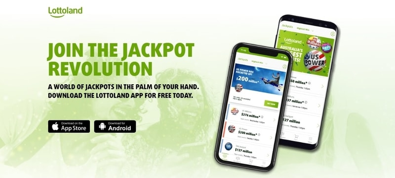 Lottoland Mobile App