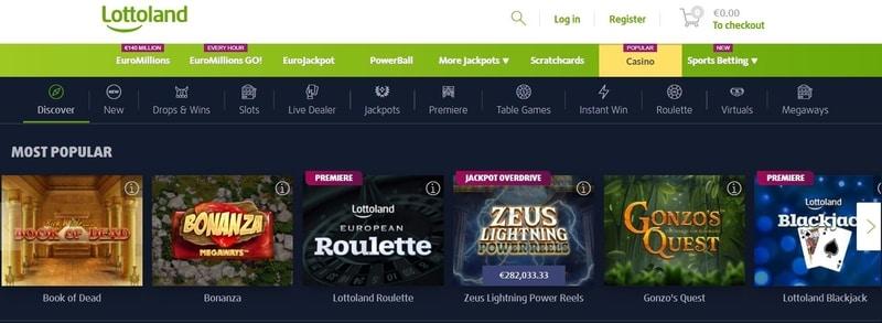Online Casino bei Lottoland