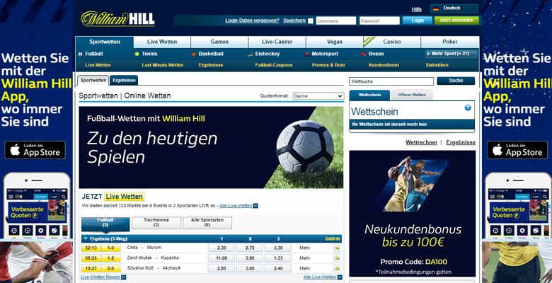 William Hill Bewertungen