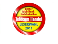 D2 Netz Auszeichnung