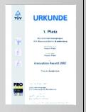 Power Plate Auszeichnung