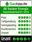SAUBER ENERGIE Auszeichnung