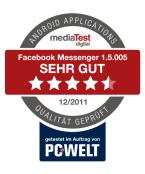 Facebook Messenger Auszeichnung