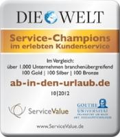 ab-in-den-urlaub.de Auszeichnung