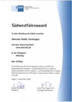 AllVendo Auszeichnung
