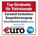 Volkswagen Bank Auszeichnung
