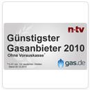 gas.de Auszeichnung
