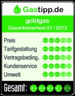 goldgas Auszeichnung