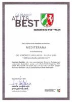 Mediterana Auszeichnung