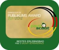 Badeparadies Schwarzwald Auszeichnung