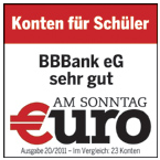 BBBank Auszeichnung
