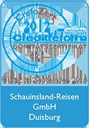 Schauinsland-Reisen Auszeichnung