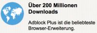 Adblock Plus Auszeichnung