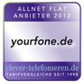 yourfone.de Auszeichnung