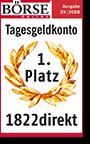 1822direkt Auszeichnung