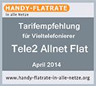 Tele2 Auszeichnung