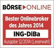 ING-DiBa Auszeichnung