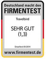 TravelBird Auszeichnung