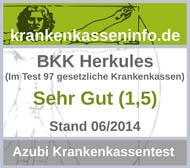 BKK Herkules Auszeichnung