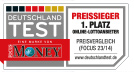 Lottoland.com Auszeichnung