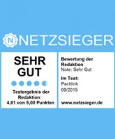 Packlink.de Auszeichnung