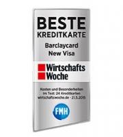 Barclaycard Auszeichnung