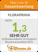 FloraPrima.de Auszeichnung