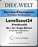 LoveScout 24 Auszeichnung