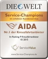 AIDA Auszeichnung