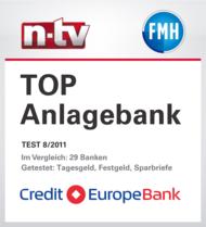 Credit Europe Bank Auszeichnung