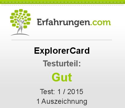 ExplorerCard Testbericht
