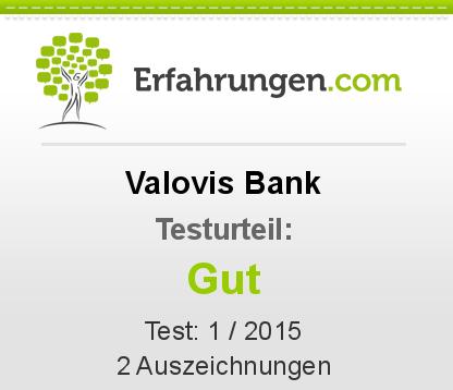 Valovis Bank Testbericht