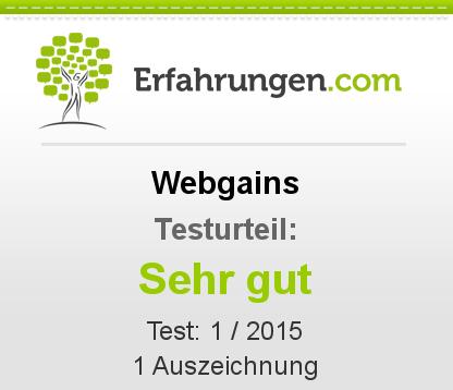 Webgains Testbericht
