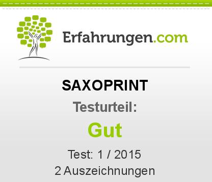 SAXOPRINT Testbericht