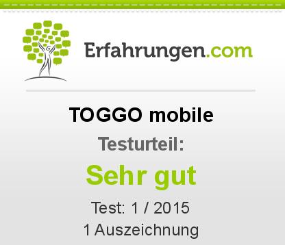 TOGGO mobile Testbericht
