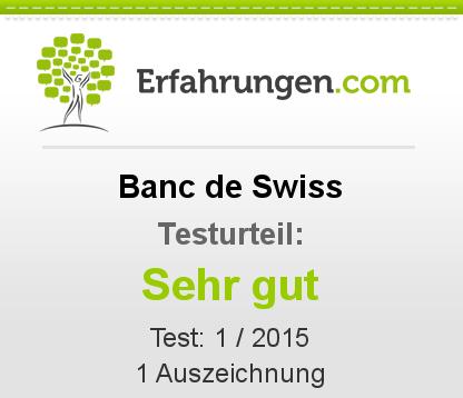 Banc de Swiss Testbericht