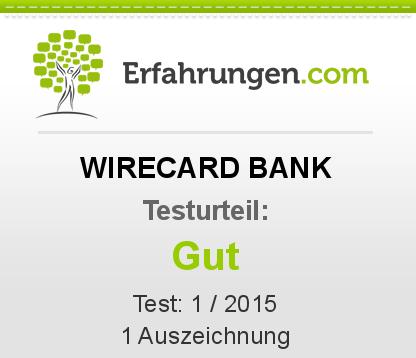 WIRECARD BANK Testbericht