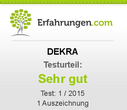 DEKRA Testbericht