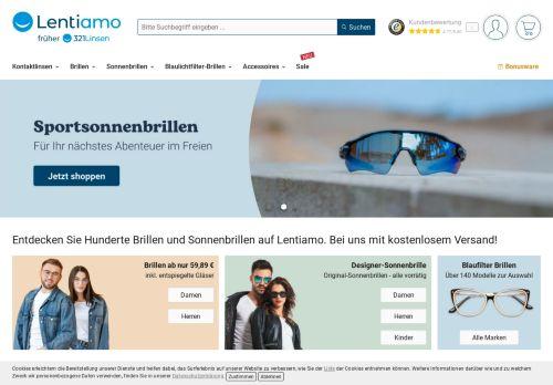 321Linsen.de Website Screenshot