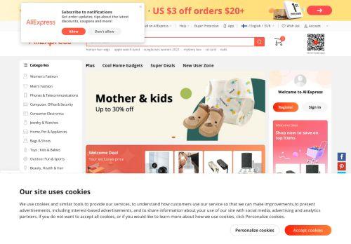 EFOX-SHOP.COM Website Screenshot