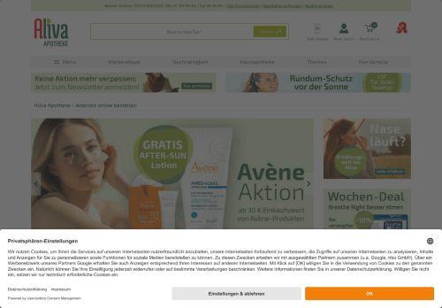 Rossmann Website Screenshot