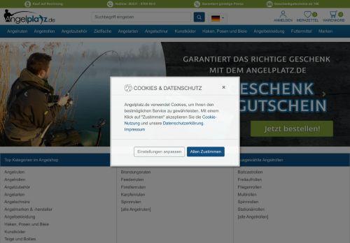Angelplatz.de Website Screenshot