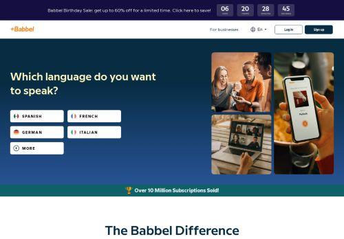 Berlitz Website Screenshot