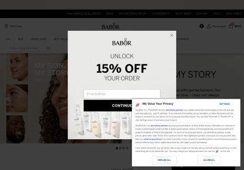 easyCOSMETIC Website Screenshot