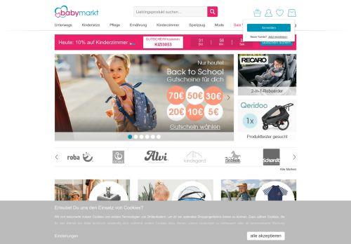 baby-walz Website Screenshot