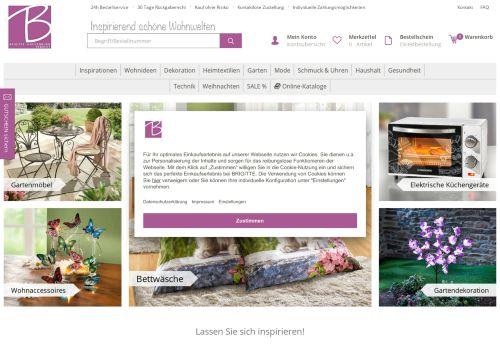 Brigitte Hachenburg Website Screenshot