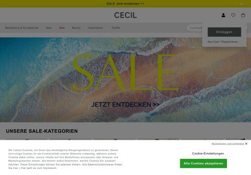 CECIL Website Screenshot